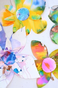 Watercolour Flower Art