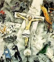 chagall - white crucifxion